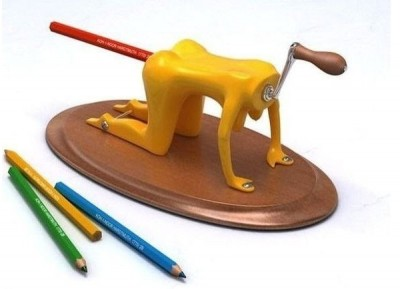 Creative pencil sharpeners