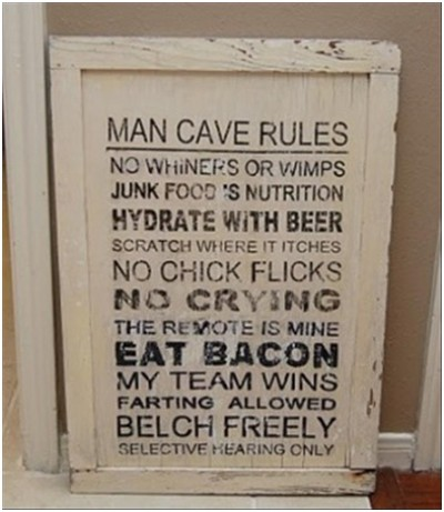 Must have Man Cave Accessories