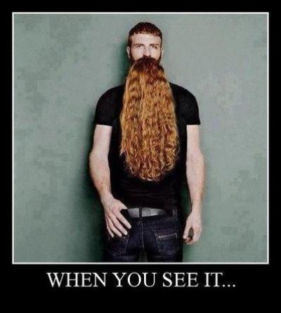 OMG! Look at that beard!!