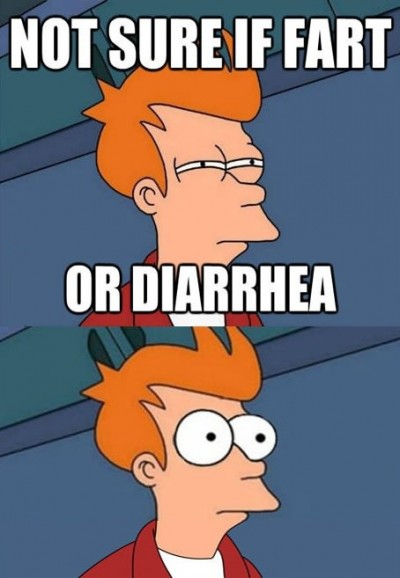 Not sure if fart.