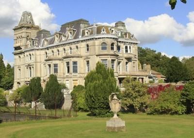 Henley Mansion in Berkshire, England