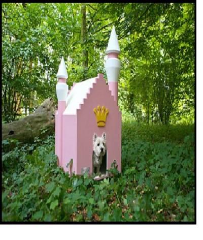 Fairy tale dog house