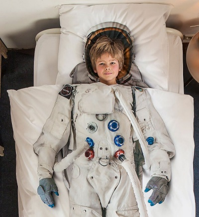 Astronaut Bed Sheet