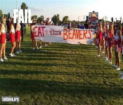 Top 15 hilarious Cheerleading fails