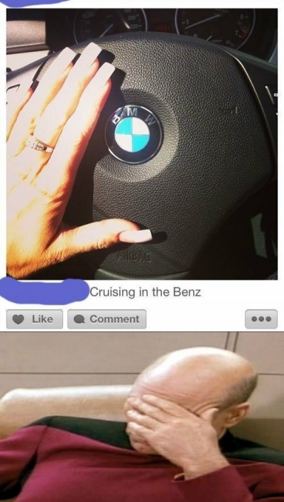 Cruising In The Benz!