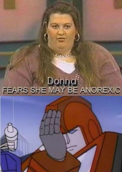 Donna Fears She May Be Anorexic