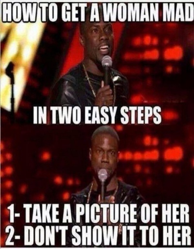 How To Get A Woman Mad?