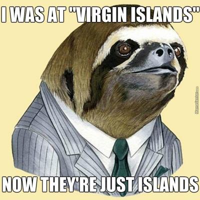 I Was At Virgin Islands…