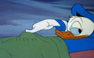 Is Donald Duck Playing With His Stuff?