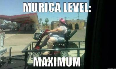 Murica Level: Maximum