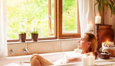Take Frequent Salt Water Baths