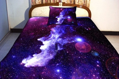 This Galaxy Bed Sheet