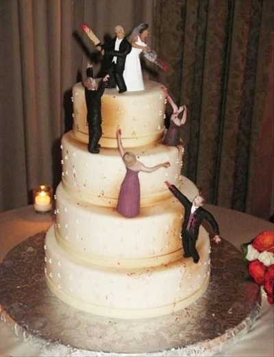 This Violence On A Cake!
