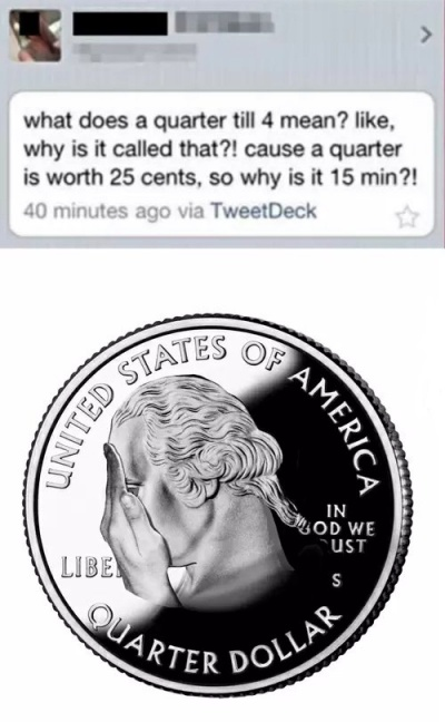 When George Washington Facepalms!