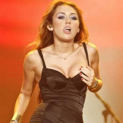 Miley's Antics On stage