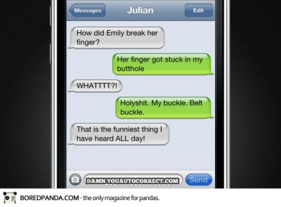Funniest Iphone autocorrect fails