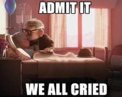 Admit it we all cried