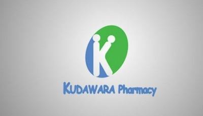 Kudawara Pharmacy logo gone wrong..