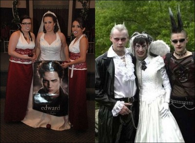 Scary wedding photos