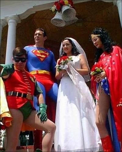 Superheroes in your wedding?